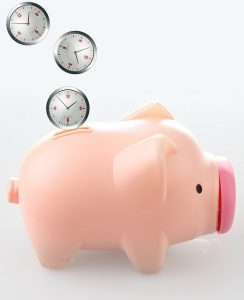 Time is money, saving time
