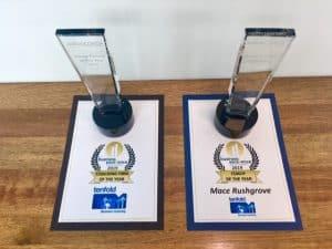 Tenfold wins two awards at BEFA 2019