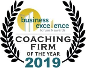 Tenfold Business Coaching based in Melbourne wins Coaching Firm of the Year and Business Coach of the Year 2019