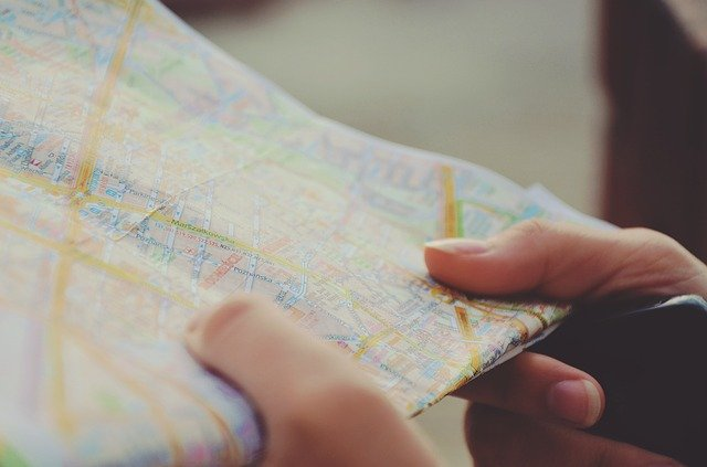 Map to public relations for business